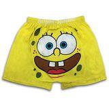 海綿寶寶 青少年平口褲 (黃色表情一入組)