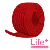 【Life Plus】居家防護 DIY萬用加寬防護條(紅色)