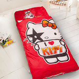 【HELLO KITTY】台灣精製兒童睡袋(紅)