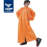 【JUMP】前開素色連身型休閒風雨衣(共8色,2XL-4XL)