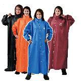 【JUMP】前開素色連身型休閒風雨衣(5XL)