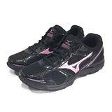 (女)MIZUNO美津濃 MAXIMIZER 17 慢跑鞋 黑/粉紅-K1GA150159