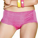 【思薇爾】啵時尚系列中低腰平口褲(甜桃粉)