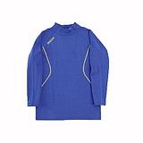 KAPPA義大利時尚精典型男小高領發熱衣(合身尺寸)~科技藍-岩草綠