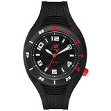 New Balance 501系列 個性數字秒針造型錶-黑/45mm