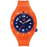 New Balance 501系列 個性數字秒針造型錶-橘/45mm