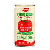 可果美100%蕃茄汁(無鹽)190ml/4入