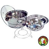 鵝頭牌 萬用蒸片鍋蓋組(CI-2502H)