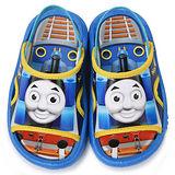 童鞋城堡-湯瑪士 小童 學步後帶拖鞋TH2076-藍