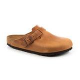 勃肯BIRKENSTOCK 760891。BOSTON波斯頓 包頭拖鞋(土黃)