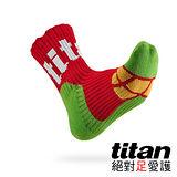 Titan側向運動襪[紅/綠/黃]
