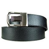 加長紳士皮帶18602-黑