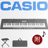 【CASIO 卡西歐】61鍵標準型電子琴入門首選/含琴袋/琴椅-公司貨保固 (CTK-3200)