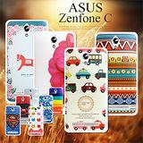 VXTRA for 華碩 ASUS Zenfone C / ZC451CG 藝術彩繪手機背蓋 手機殼