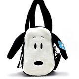 【萌臉Snoopy】絨毛立體手提包