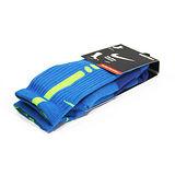 NIKE ELITE CUSHIONED 籃球中筒襪 藍/螢光綠-SX3629477