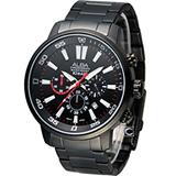 ALBA 雅柏 競速潮男計時腕錶 VD53-X176SD AT3707X1