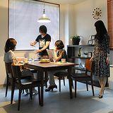 【日本直人木業】START生活美學餐桌椅(一桌四椅)