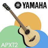 【YAMAHA 山葉】36吋旅行電木吉他調音式EQ含原廠袋-公司貨保固 (APXT2)