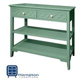 漢妮Hampton安琪拉二抽玄關桌-藍