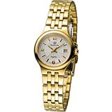 Olympia Star 經典超薄時尚腕錶 58010BK 金色