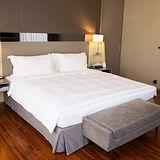 【法式寢飾花季】優雅生活-五星級飯店御用平紋被套(雙人6x7尺)x2件組