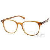 OLIVER PEOPLES眼鏡 唯美半圓大框款(咖啡琥珀) #SCHEYER 1483