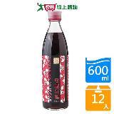 百家珍蔓越莓醋600ml*12