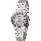 Tissot Bridgeport 典藏優雅機械腕錶 T0970071111300