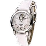 天梭 TISSOT Lady Heart 瑰麗藝術鏤空機械腕錶 T0502071711704