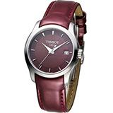 天梭 TISSOT Couturier 建構師系列 女用時尚腕錶 T0352101637100