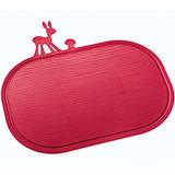 《KOZIOL》斑比鹿早餐盤砧板(紅)