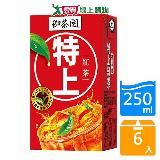 御茶園特上紅茶250ml*6