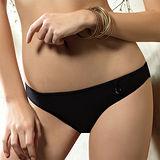 【LADY】莉莉思 沁涼系 低腰三角褲(時尚黑)