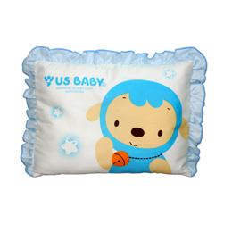 優生 綿羊嬰兒枕-藍/粉