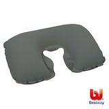 (購物車)《購犀利》Bestway 植絨旅行用充氣枕/U型枕/ㄇ型頸枕67006