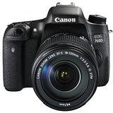 Canon EOS 760D 18-135mm IS STM (公司貨)-送32G卡+原廠電池+UV保護鏡+相機包+快門線+遙控器+熱薛蓋+HDMI+減壓背帶+大吹球清潔組+拭鏡筆