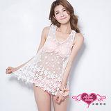 【天使霓裳】夏季百搭 長板針織挖背背心外搭罩衫(白)