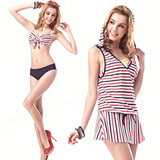 【SARBIS】MIT大女比基尼三件式泳裝附泳帽B93327