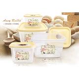 安妮兔四入方形保鮮盒-櫻花