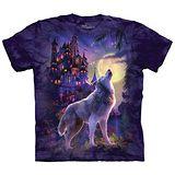 【摩達客】(預購)(大尺碼3XL)美國進口The Mountain 狼城堡 純棉環保短袖T恤