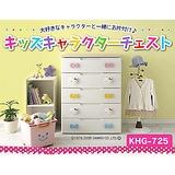 【IRIS】日本知名品牌 MICKY 米奇五層 收納櫃 MHG-555H