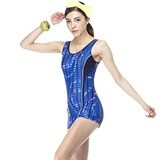 【SARBIS】MIT大女連身四角泳裝附泳帽B95403