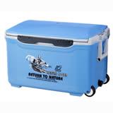 [百貨通]42L休閒冰箱(送冰寶冰磚) 行動冰桶 釣魚 保冰桶