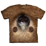 【摩達客】(預購) 美國進口The Mountain Smithsonian系列 顛倒樹懶 純棉環保短袖T恤