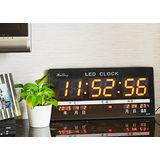[百貨通]LED數位萬年曆電子鐘 日曆 時鐘 辦公室 萬年曆時鐘