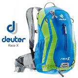 【德國 Deuter】Race X 12L 超輕量自行車背包.單車背包.登山背包.露營背包.雙肩背包.旅行包-32123 藍/淺綠