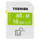 TOSHIBA 16GB NFC SDHC UHS-I C10 快速記憶卡(公司貨) - 加送萬用保護貼