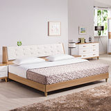HAPPYHOME 寶格麗床箱型5尺雙人床架624-1+624-2不含床頭櫃-床墊