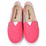 童鞋城堡-拉拉熊 女款 經典款休閒帆布鞋KM8245-桃
